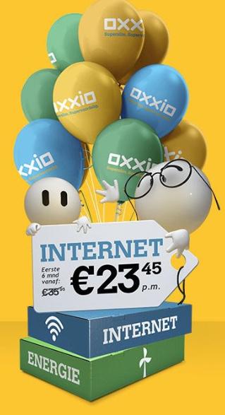 Oxxio glasvezel internet aanbieding